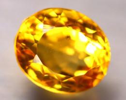 Citrine 5.60Ct Natural VVS Golden Yellow Color Citrine E0312/A2