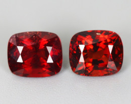 3.070 CT SPINEL BLOOD RED PAIR 100% NATURAL UNHEATED MINE BURMESE