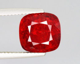 5.015 CT SPINEL BLOOD RED 100% NATURAL UNHEATED MINE BURMESE