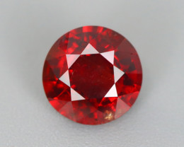 1.525 CT SPINEL BLOOD RED 100% NATURAL UNHEATED MINE BURMESE