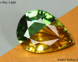 1.230 CT ALEXANDRITE COLOR CHANGE 100% CLEAN NATURAL GFCO CERTIFIED