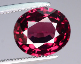 Clean Piece 3.30 ct Good Luster Pink Red Garnet~MS