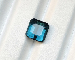 4.20 carats Blue Indicolite Tourmaline Gemstones