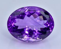 20.48 Crt Amethyst  Faceted Gemstone (Rk-82)