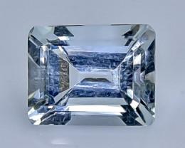 3.09 Crt Aquamarine Faceted Gemstone (Rk-82)