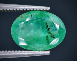 2.40 Crt Emerald  Faceted Gemstone (Rk-82)