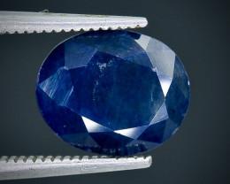 3.47 Crt  Sapphire Faceted Gemstone (Rk-82)