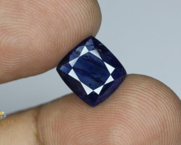 Certified Blue Sapphire from Afghanistan 4.405 Carats