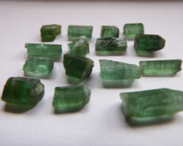 45.2 carat facet quality green tourmaline lot rough