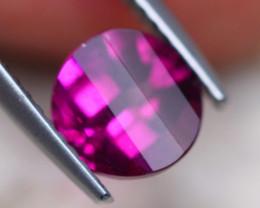 1.66Ct Natural Rhodolite Garnet Round Cut Lot LZ7519