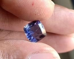Natural iolite Gemstone Faceted Genuine Gem VA5300