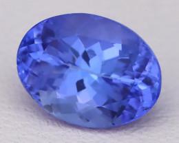 Tanzanite 1.39Ct VVS Natural Oval Master Cut Vivid Blue Tanzanite B2812