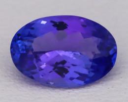 Tanzanite 1.16Ct VVS Natural Oval Master Cut Vivid Blue Tanzanite B2814