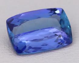 Tanzanite 1.83Ct VVS Natural Octagon Master Cut Vivid Blue Tanzanite B2821