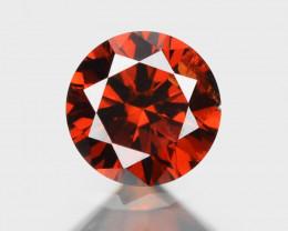 Diamond 0.10 Rare Fancy Orange Red Color Natural
