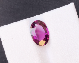 Rare 2.65 Ct Brilliant Quality Natural Mahenge Garnet