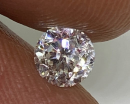 (1) Certified $1223  Stunning  0.53cts SI1 Nat White Round Loose Diamond