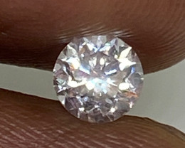 (2) Certified $1485 Precious  0.50cts VS1 Nat  White Round Loose Diamond