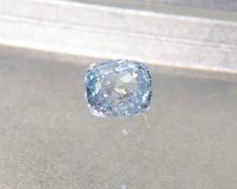 1.05ct unheated blue sapphire