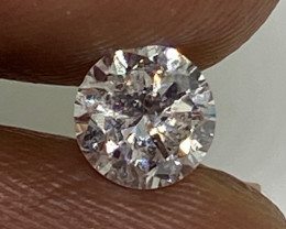 (3) Certified $1269 Fiery 0.55cts SI1 Nat White Round Loose Diamond