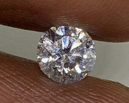 (4) Certified $1200  Gorgeous  0.52cts SI1 Nat  White Round  Loose Diamond