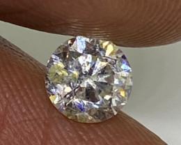 (5) Certified $1839 Stunning 0.72cts SI1 Nat  White Round Loose Diamond