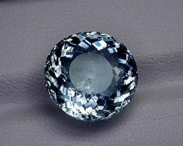 8.32CT BLUE AQUAMARINE BEST QUALITY GEMSTONE IIGC17
