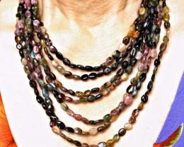 572.5 Tcw. Tourmaline Necklace - Gorgeous