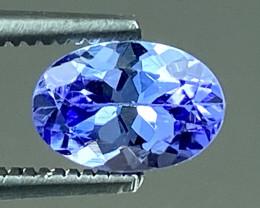 0.63Ct Tanzanite Excellent Quality Gemstone. TN 95