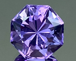 5.52Ct Amethyst Excellent Amazing Cut Top Quality Gemstone.ATF 68