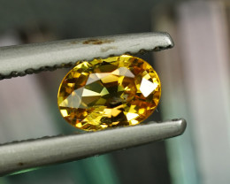 .54CT BRIGHT CANARY YELLOW SAPPHIRE $1NR!