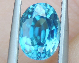 2.09cts Blue Zircon from Cambodia