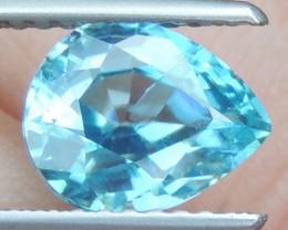 2.64cts Blue Zircon from Cambodia