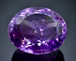 53.67 Crt Natural Amethyst  Faceted Gemstone.( AB 8)