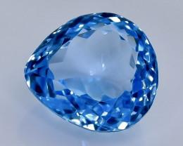 11.07 Crt Natural Topaz  Faceted Gemstone.( AB 8)