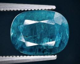 2.66 Crt Natural  Grandidierite Faceted Gemstone.( AB 8)