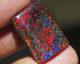 10.80 CT GORGEOUS RAINBOW ANDAMOOKA MATRIX OPAL