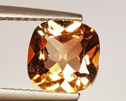 2.42 ct Top Quality Stunning Cushion Cut Natural Champion Topaz
