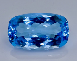 17.89 Crt Topaz  Faceted Gemstone (Rk-83)