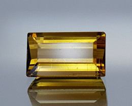 1.62Crt Yellow Tourmaline Rare Color Natural Gemstones JI12