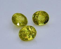 1.66 Crt  Sphene Faceted Gemstone (Rk-83)
