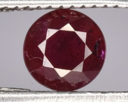 Natural Red Ruby 0.45 CTS Gem
