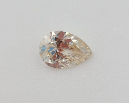 GIA 0.9 Pear Diamond SI2 Very Good Cut