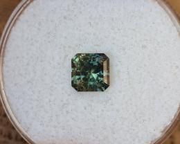 1,18ct Colour shift bicoloured Sapphire - Master cut!