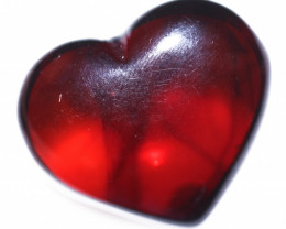 22 Cts Lovers Heart Natural  Amber from Poland  code CCC2869