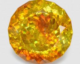 Sphalerite 19.39 Cts Marvelous Natural Rare Top Rich Fired Sunset Orange