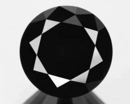 Diamond 2.45 Cts Amazing Rare Fancy Black Color Natural