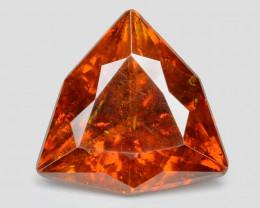 Sphalerite 3.50 Cts Marvelous Natural Fired Sunset Orange