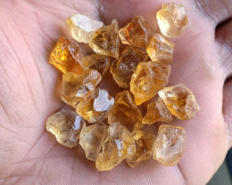 100 Ct Natural Citrine Gemstone Rough Parcel VA5322