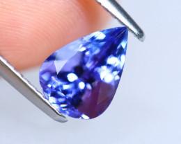 2.07cts Natural D Block TOP Violet Blue Tanzanite / KL1065